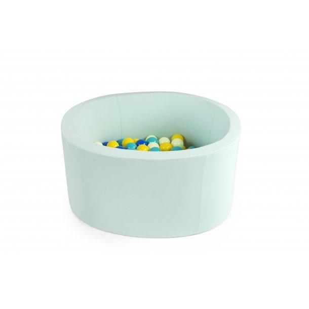 Misioo boldbassin - Mint - Rundt 90x40 inkl. 200 bolde