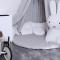 Cotton & Sweets hør sengehimmel, Grå