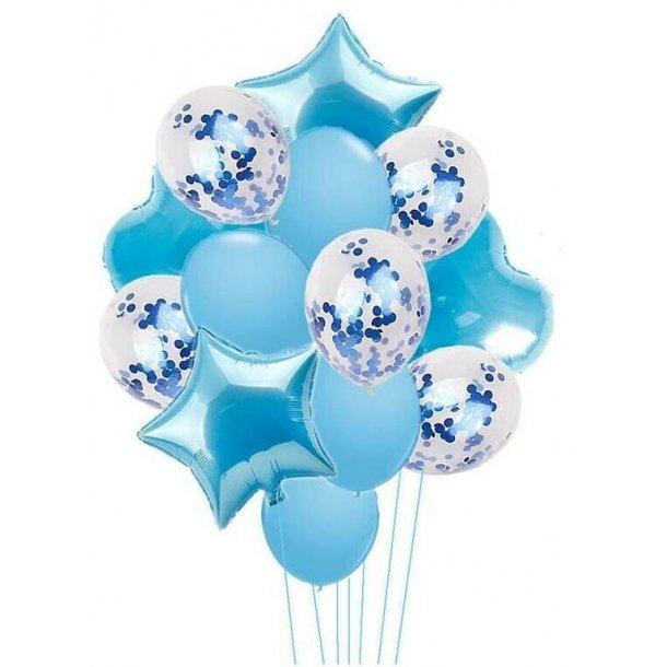 Balloner - Blå - 14 stk