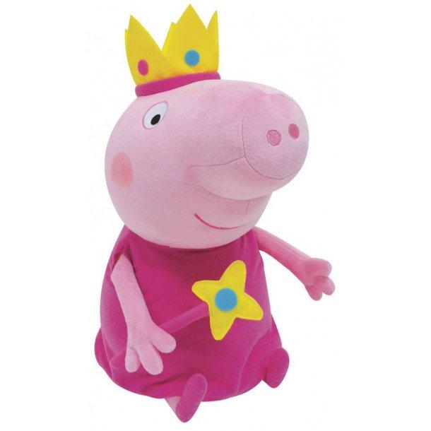 Gurli Gris prinsesse bamse - 45 cm