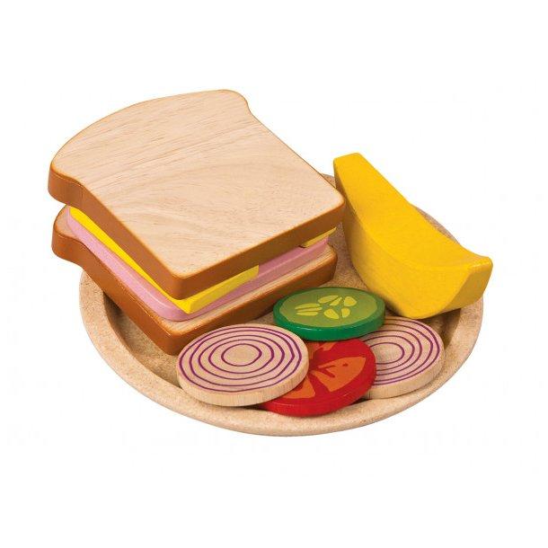 Plantoys Sandwich måltid