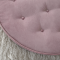 Vintage pouf - Støvet rosa
