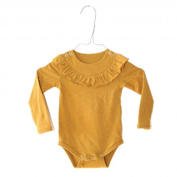 KRUTTER Body m. flæse – Mustard