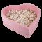 Misioo boldbassin - Hjerte - 138X138X40  inkl. 400 bolde, Rosa