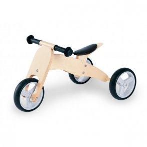 Løbecykler, gåvogne og løbehjul